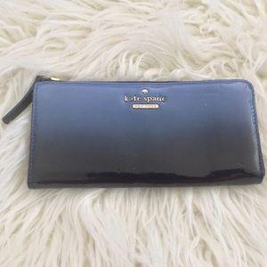 Kate Spade Wallet Blue Ombre